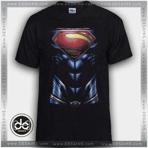Cheap Graphic Tee Shirts Superman Body Logo on Sale
