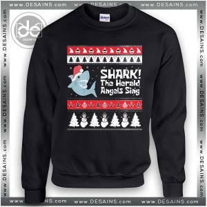 Cheap Ugly Christmas Sweater Shark Tacky Sweatshirt On Sale
