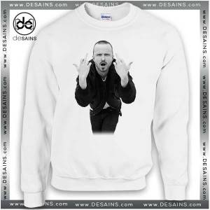 Cheap Graphic Sweatshirt Aaron Paul Poster on Sale