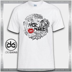 Cheap Graphic Tee Shirts Arctic monkeys Lyrics On Sale