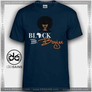 Cheap Graphic Tee Shirts Black and Boujee on Sale