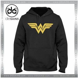 Cheap Graphic Hoodie Sweater Wonder Woman logo on Sale