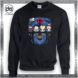 Cheap Graphic Sweatshirt Stranger Things South Park