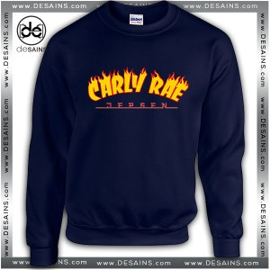 Cheap Graphic Sweatshirt Thrasher Carly Rae Sweater Size S-3XL