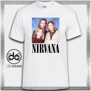 Cheap Graphic Tee Shirts Nirvana Hanson Tshirt on Sale