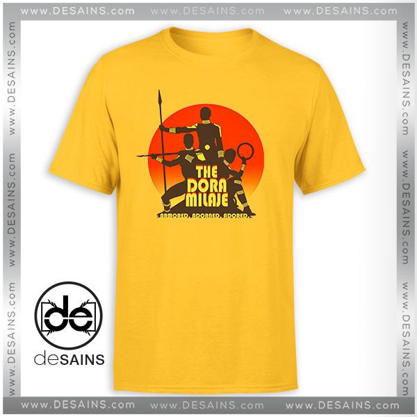 Cheap Graphic Tee Shirts Dora Milaje Black Panther Movie