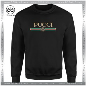 Cheap Sweatshirt Pucci Gucci Funny Logo