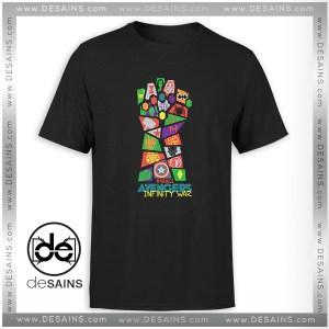 Cheap Tshirt Avengers Infinity War Pop Art