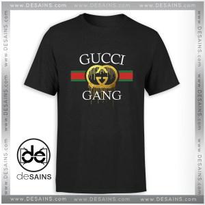 Cheap Tshirt Funny Logo Gucci Gang