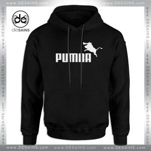 Cheap Graphic Hoodie Pumba Logo Puma Parody