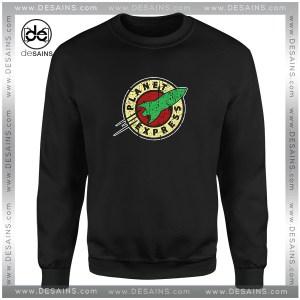 Cheap Graphic Sweatshirt Futurama Planet Express Logo