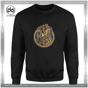 Cheap Graphic Sweatshirt Infinity War Hand Thanos