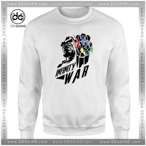 Cheap Graphic Sweatshirt Marvel Infinity War Thanos
