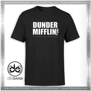 T-Shirt Dunder Mifflin Paper Company Merch Tee Shirt Size S-3XL