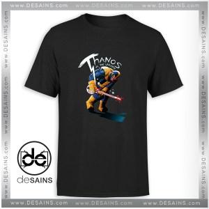 T-Shirt Infinity War Thanos Guitar Tee Shirt Size S-3XL