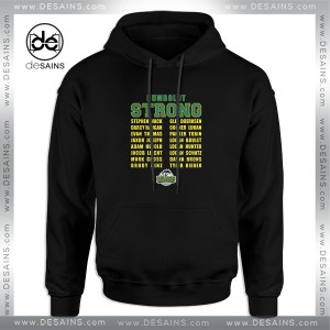 Cheap Graphic Hoodie Humboldt Broncos Strong Name Hoodies Unisex