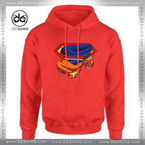 Cheap Graphic Hoodie Super Goku Superman Logo