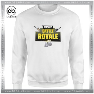 Cheap Graphic Sweatshirt Play Battle Royale Fortnite Size S-3XL