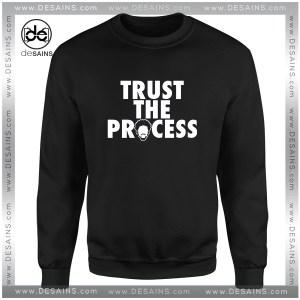 Cheap Graphic Sweatshirt Trust The Process Philadelphia 76ers