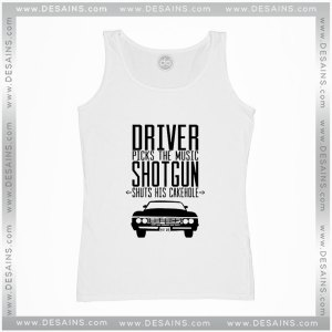 Cheap Graphic Tank Top Supernatural Driver Picks The Music Shotgun Shuts
