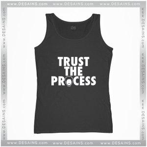 Cheap Graphic Tank Top Trust The Process Philadelphia 76ers