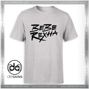 Cheap Tee Shirt Bebe Rexha Logo Art Tshirt Size S-3XL