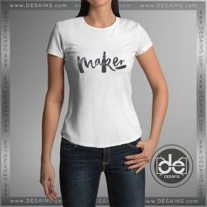 Cheap Tee Shirt Girl Maker Tshirt Women Size S-3XL