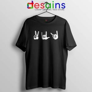 Peace Love Death Metal Tshirt Eagles of Death Metal Tees Music