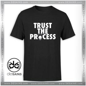 Tee Shirt Trust The Process Philadelphia 76ers Tee Shirt Size S-3XL