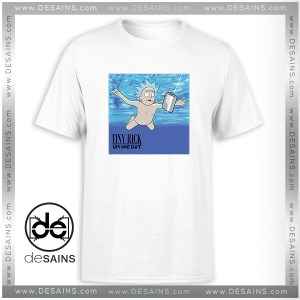 Cheap Graphic Tee Shirt Tiny Rick Let Me Out Nirvana Cover T-Shirt Size S-3XL