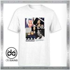 Cheap Graphic Tee Shirt RIP Xxxtentacion Tribute Poster Tshirt Size S-3XL