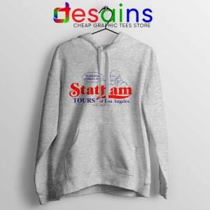 Buy Hoodie Statham Tours Los Angeles Sport Grey Hoodies