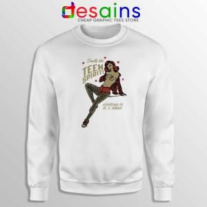 Buy Sweatshirt Smells Like Teen Spirit Girl Nirvana Size S-3XL