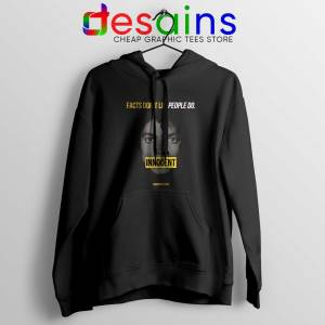 Buy Hoodie Michael Jackson Innocent Facts Don't Lie People Do