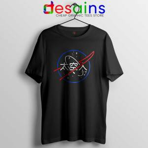 NASA Aesthetic Japanese Tee Shirt Cheap Size S-3XL