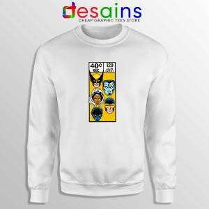 Buy Sweatshirt X Men Comic Book Poster Crewneck Sweater White