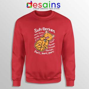 Sweatshirt Goose Soft Flerken Big Bang Theory Crewneck Red