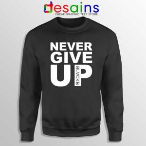 Buy Sweatshirt Never Give Up Mohamed Salah Crewneck Sweater