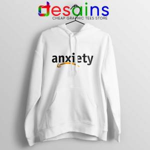 Cheap Hoodie Anxiety Amazon Logo White Hoodies Adult Unisex