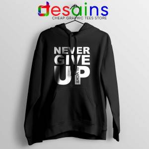 Cheap Hoodie Never Give Up Mohamed Salah Hoodies Adult Unisex