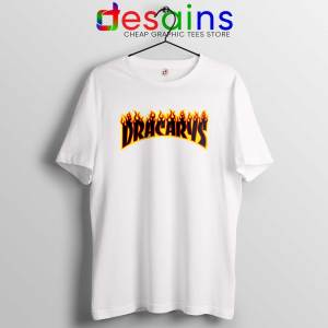 Dracarys Thrasher Fire Tee Shirt Game of Thrones Size S-3XL