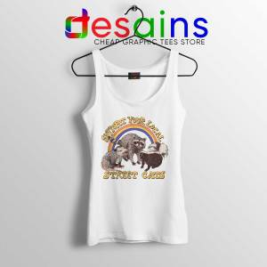 Tank Top Support Your Local Street Cats Cheap Tank Tops Size S-3XL