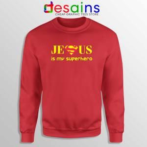 Superman Jesus Is My Superhero Sweatshirt Christmas Sweater