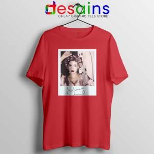 Marina and the Diamonds Red Cheap Tshirt - Tee Shirts Marina Diamandis