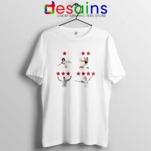 Megan Rapinoe and USWNT 4 Stars Tee Shirt USWNT Tshirt Size S-3XL