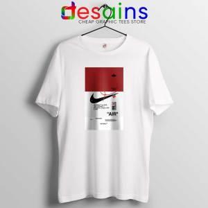Off White Shoes Air 85 Tshirt Cheap Tee Shirts OffWhite Parody
