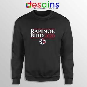 Rapinoe Bird 2020 Black Sweatshirt Megan Rapinoe Sue Bird Sweater