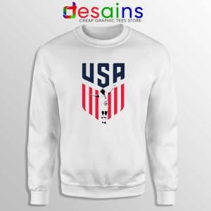 Rapinoe USA Soccer Women Sweatshirt Sweater Megan Rapinoe USWNT