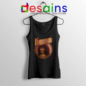 Tank Top Black Lizzo American Singer Vintage Merch Tank Tops