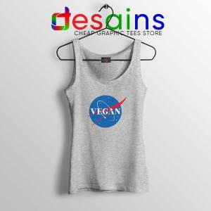 Tank Top Vegan Nasa Logo Cheap Tank Tops Veganism Shirt